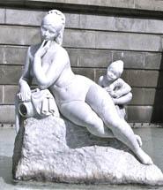 estatua barcelona