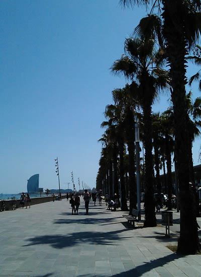 Passeio Marítimo - Barceloneta