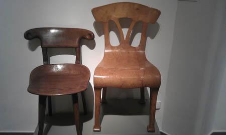 Cadeiras feitas por Gaudì