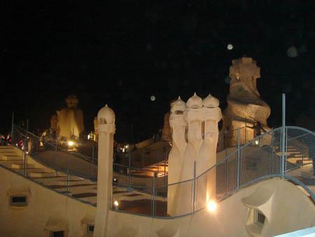 La Pedrera na noite dos museus em 2009.