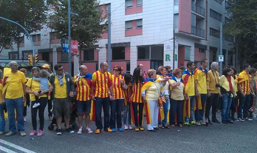 Via Catalana de 2013