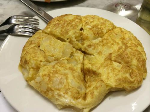 Tortilla - estava uma delícia