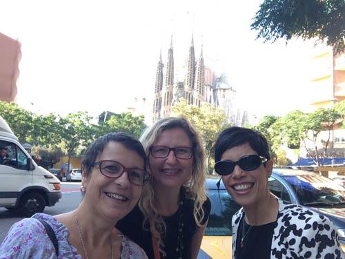 Eu com a Rita, O Porto Encanta, e Magê, Milão nas Mãos.