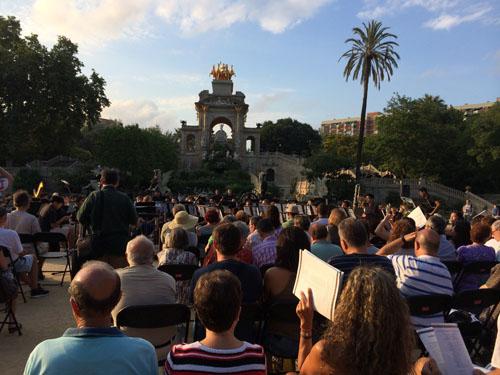 Música no Parc de la Ciutadella