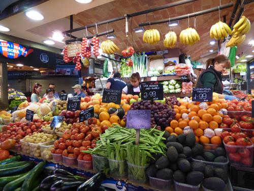 Banca de frutas onde gosto de comprar.