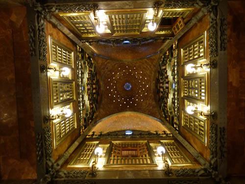 Por dentro do Palau Güell