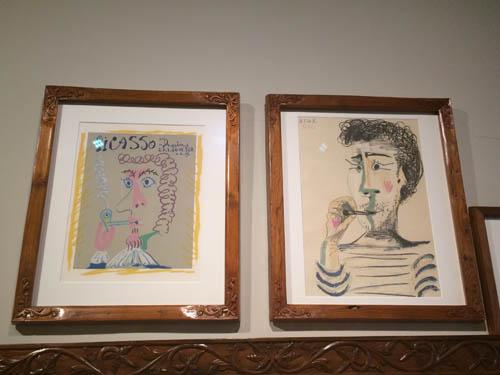 Quadros pintados por Picasso. Será que ele fuma maconha?