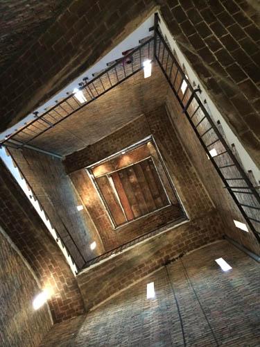 Interior da torre veneziana