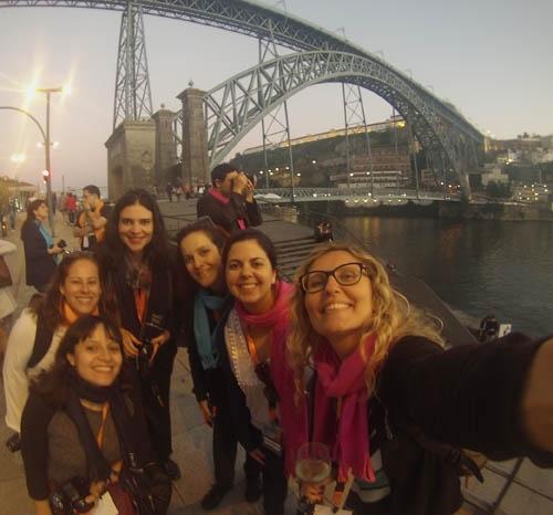 Grupo de bloguieros que moram na Espanha.