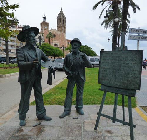 Artistas catalães que viveram em Sitges.