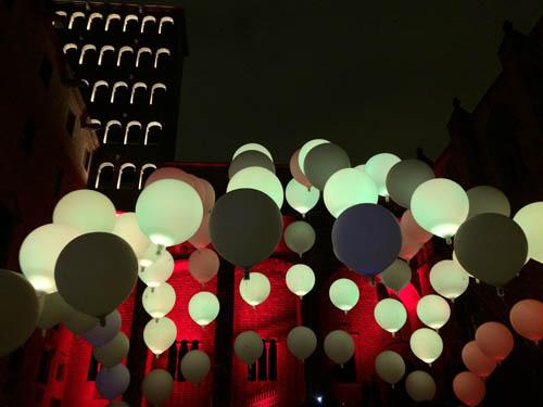 Festival de Llum BCN do ano passado - Plaza del Rei