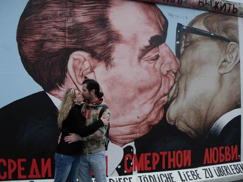 O famoso beijo!