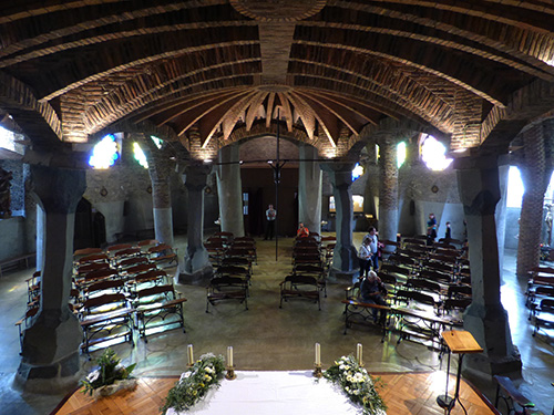 Interior da Cripta