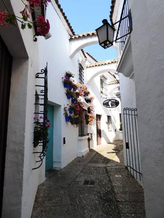 Uma rua da Andaluzia.
