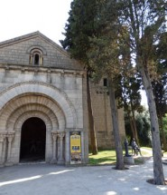 Reprodução do mosteiro de San Miquel