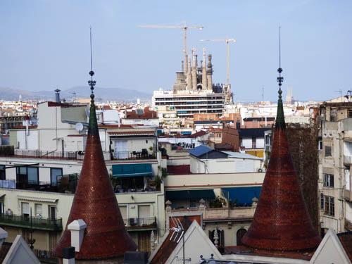 Vista do telhado