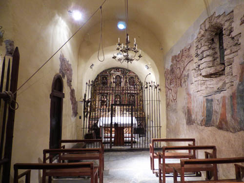 Interior da igreja de Sant Climet