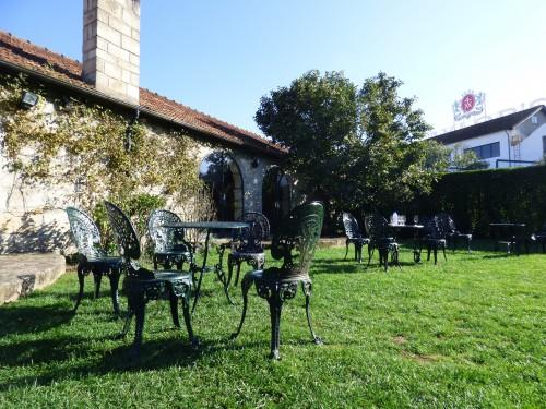 Jardim do restaurante