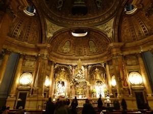 Altar da Ns. Sra. do Pilar.