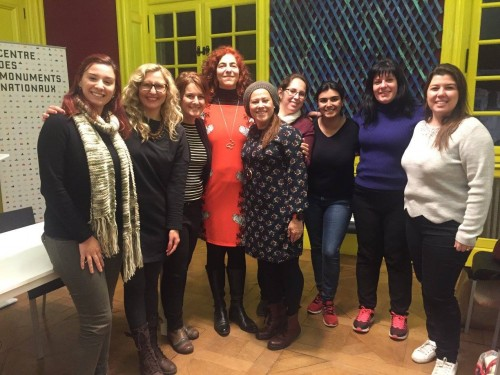 Time de blogueiras da Espanha!