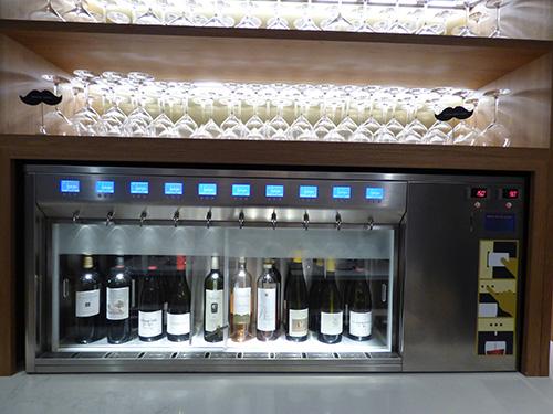 Máquina de vinho!
