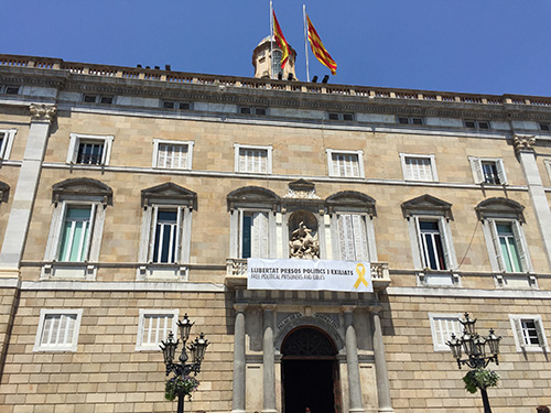 Prédio governo da Catalunha.