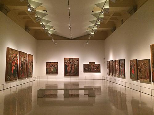 Sala arte gótica