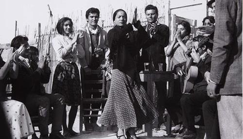 Carmen Amaya no filme Los Tarantos.