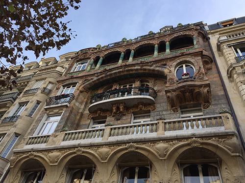 Prédio art nouveau - Paris