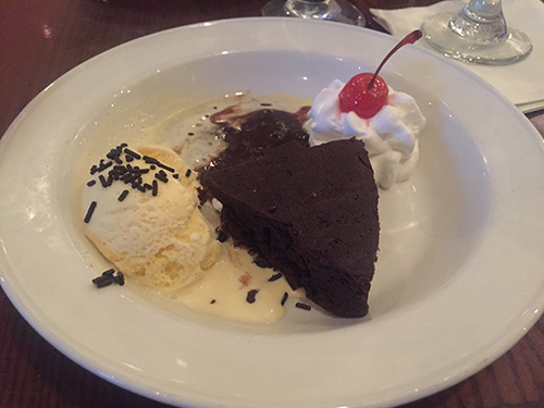 Sobremesa: brownie