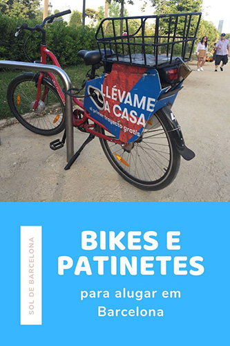 bikes e patinetes