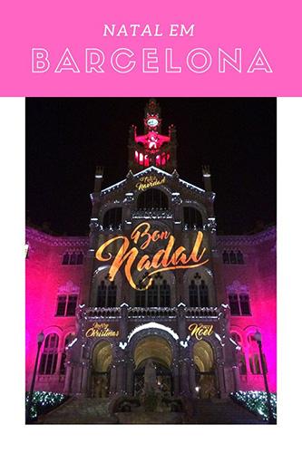 Natal em Barcelona-pinterest